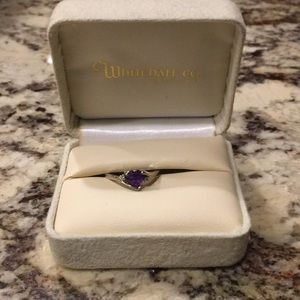 Accessories - Size 6 Amethyst Ring